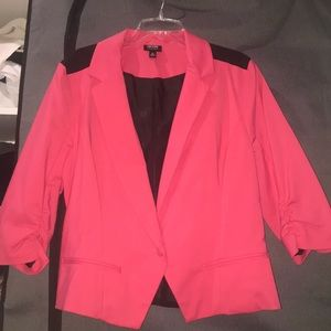 Colorblock Blazer